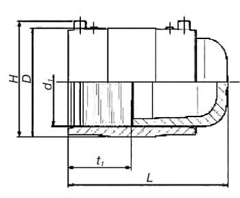 Заглушка э. с. SDR 11 PE 100 PN 10* 491204